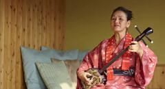 Sanshin, the banjo from Okinawa