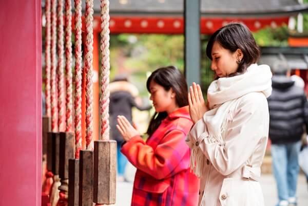 Hoshino resorts Kai Hakone shrine