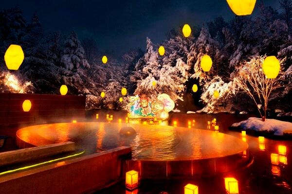 aomoriya winter open air bath