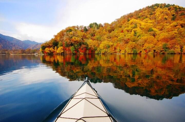 Chuzenji Lake kayak