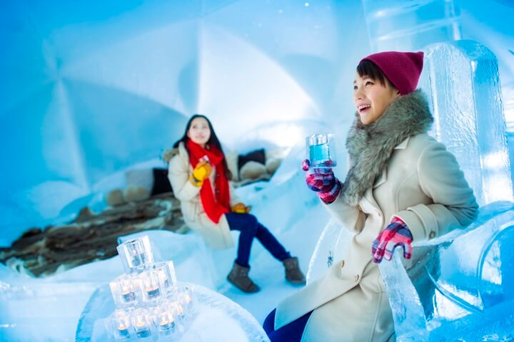 【トマム】氷のホテル人あり (4)