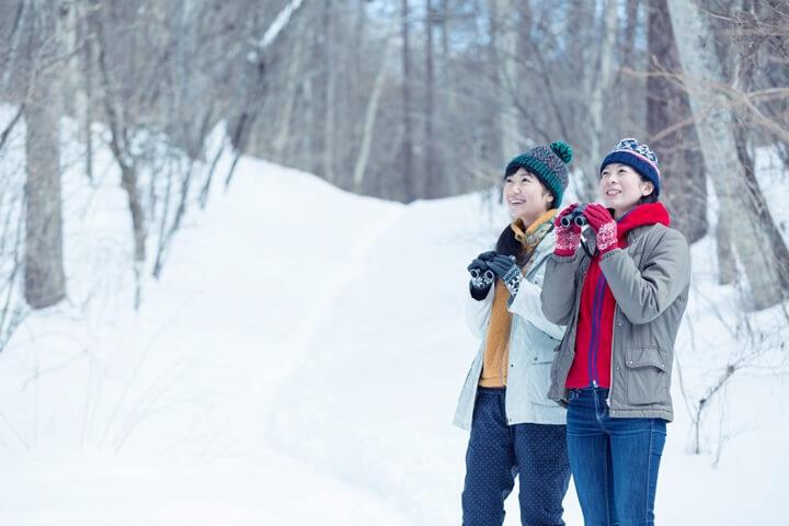 【ピッキオ】野鳥の森ネイチャーウォッチング冬02