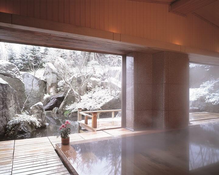 【界】若者旅_津軽雪見露天