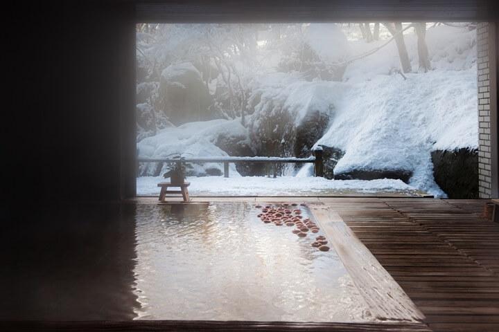 【界津軽】雪見温泉 (3)