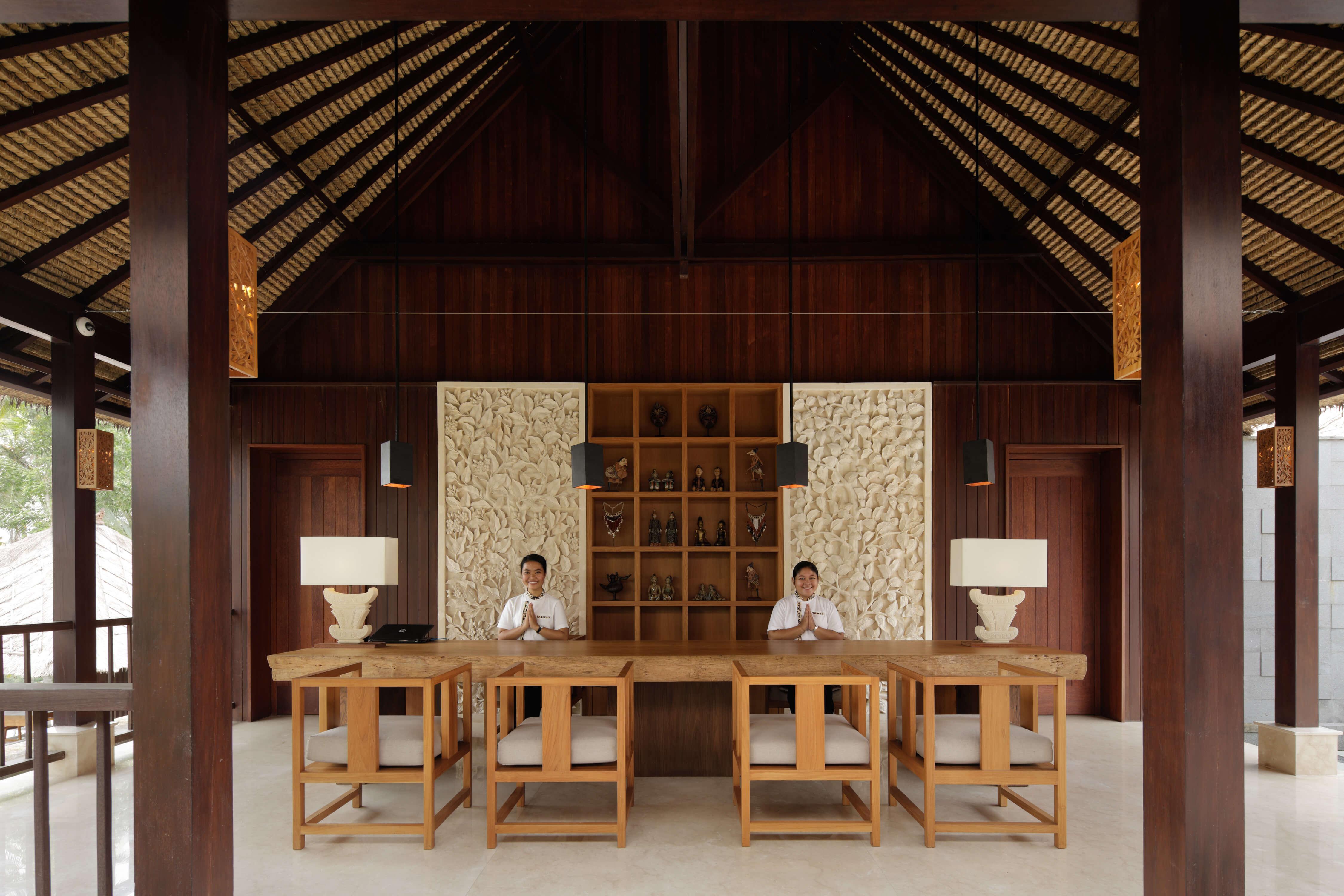 HOSHINOYA Bali Front desk