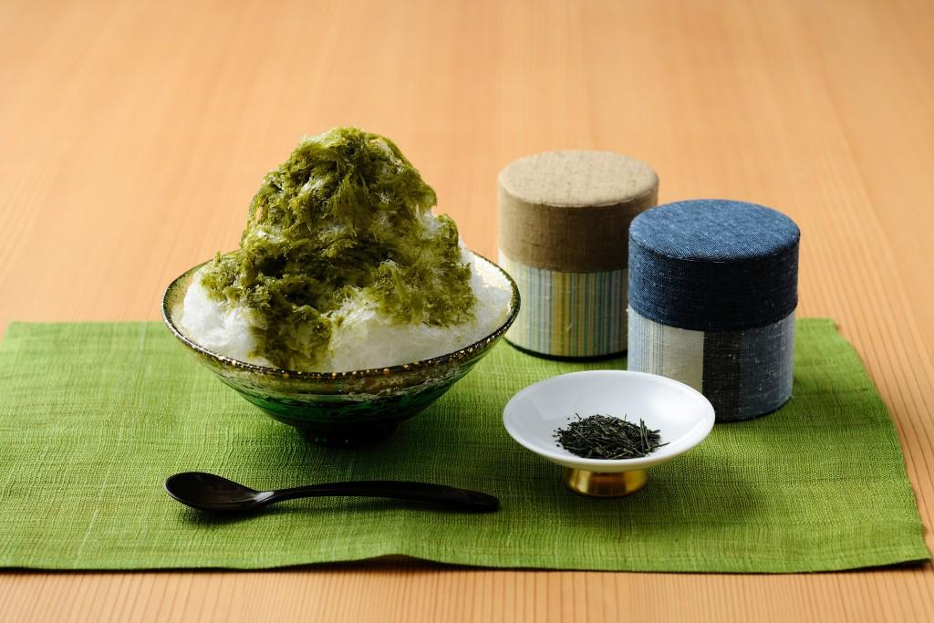 【界遠州】煎茶シロップかき氷