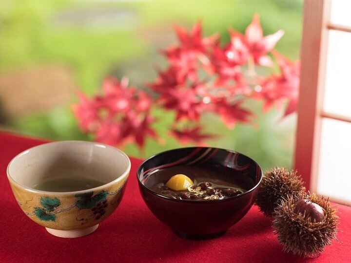 【界加賀】菊酒とぜんざい