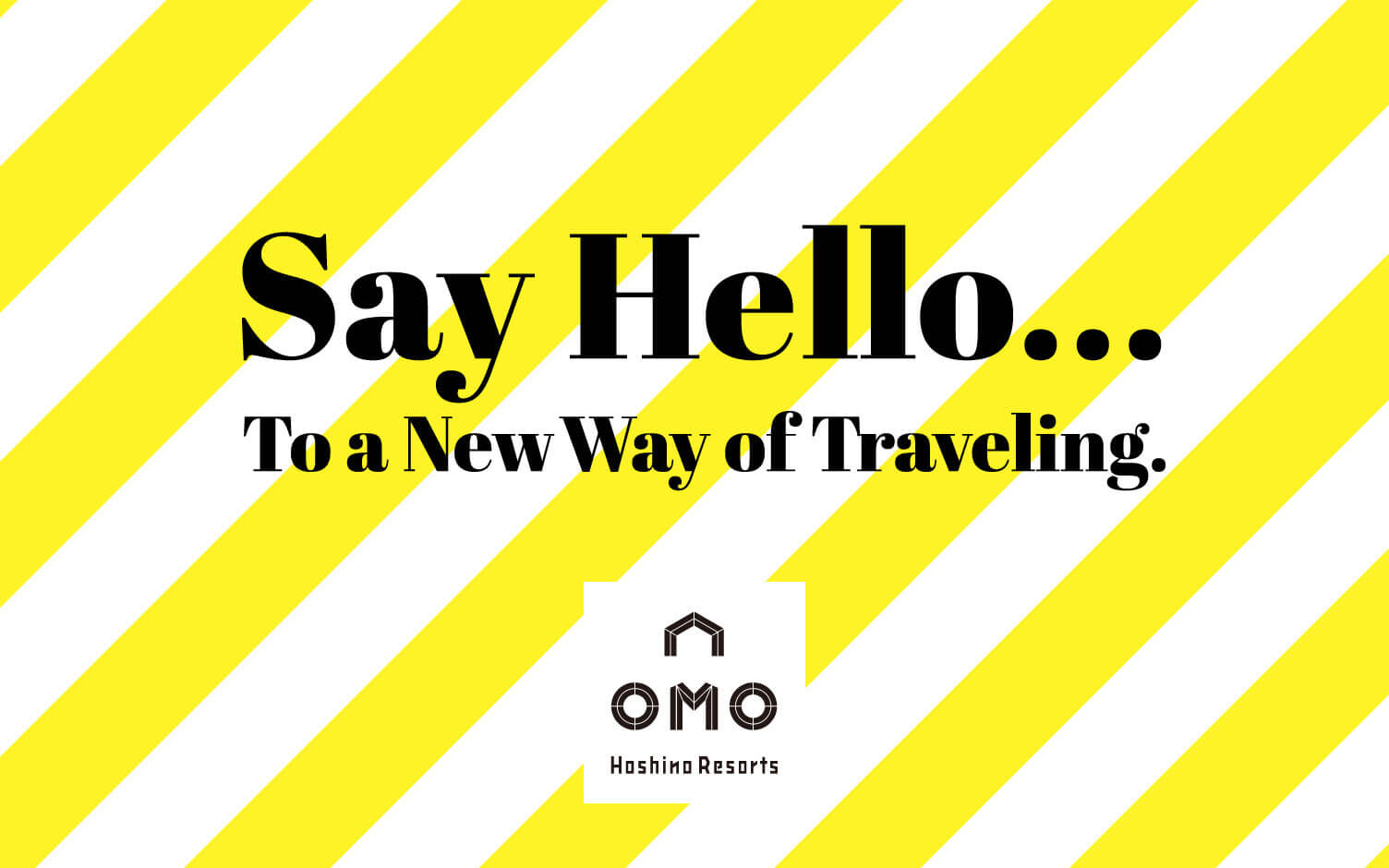 【OMO】全新城市觀光飯店品牌